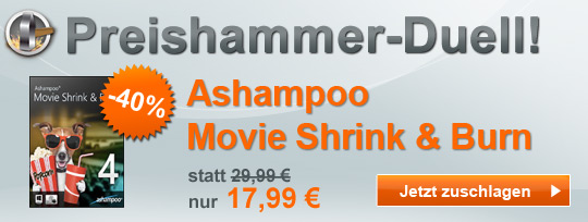 Ashampoo Movie Shrink & Burn