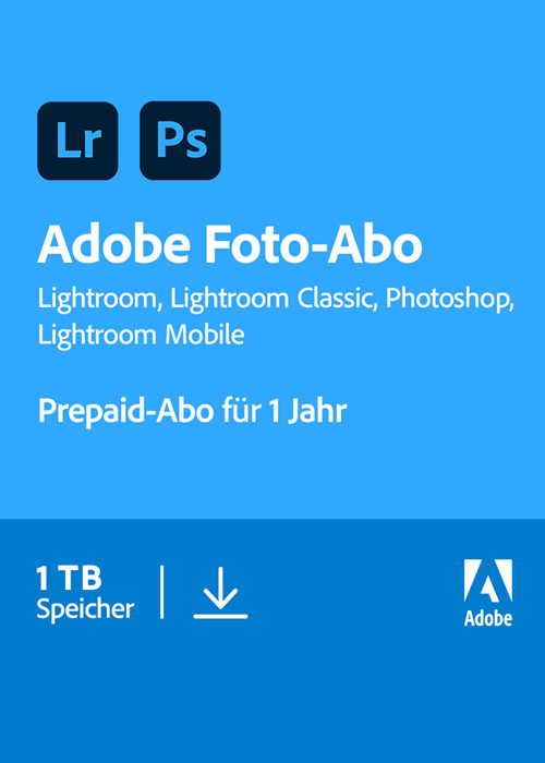 Adobe Creative Cloud Fotografie - 1 TB