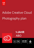 Adobe Creative Cloud Fotografie - 20 GB