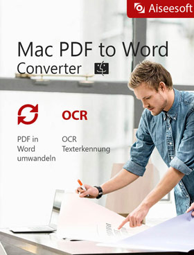 Aiseesoft Mac PDF to Word Converter  - 2018
