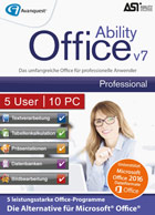 Ability Office 7 Professional - 5 User 10 PC