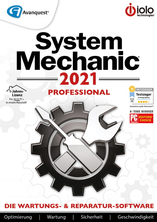 System Mechanic 2021 Professional
