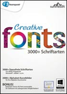 Creative Fonts Version 5