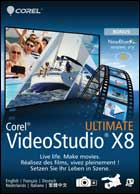 VideoStudio Ultimate X8