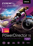 PowerDirector 15.0 Ultimate Suite