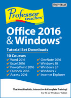 Professor Teaches Office 2016 & Windows 10