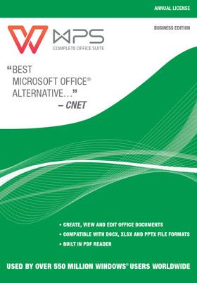 WPS Office Business Edition - (Jährliche Rechnung)