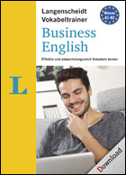 Langenscheidt Vokabeltrainer 7.0 Business English