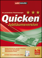 Quicken 2012 Jubiläumsversion Erstversion (Quicken 2012 + GData IS)