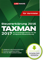 Taxman 2017 für Vermieter