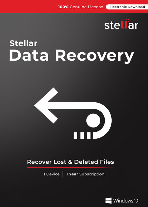 Stellar Data Recovery Professional for Windows V10