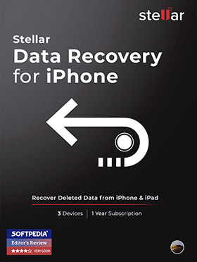 Stellar Data Recovery for iPhone Mac