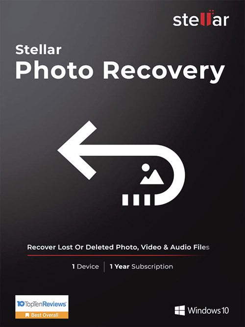 Stellar Photo Recovery Standard Windows v10.0