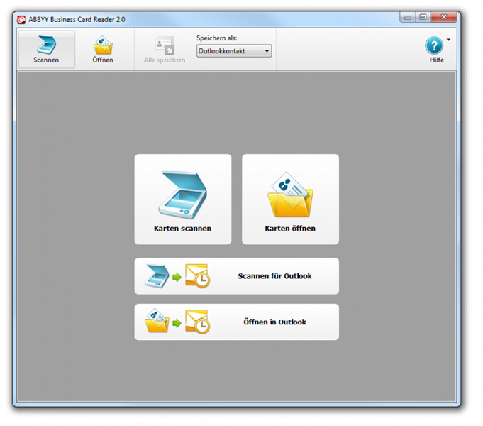 ABBYY Business Card Reader 2.0 (for Windows)  screenshot 5