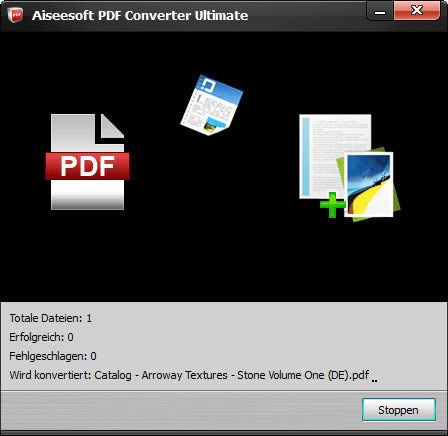 Aiseesoft PDF Converter Ultimate screenshot 1