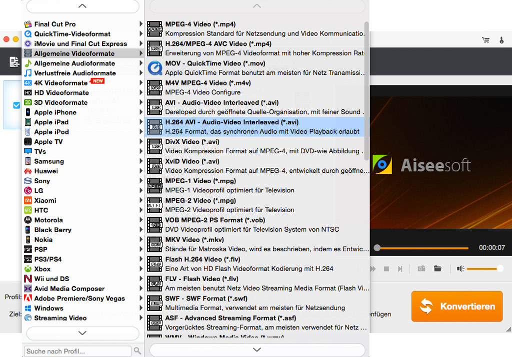 Aiseesoft HD Converter für Mac - 2018 screenshot 2