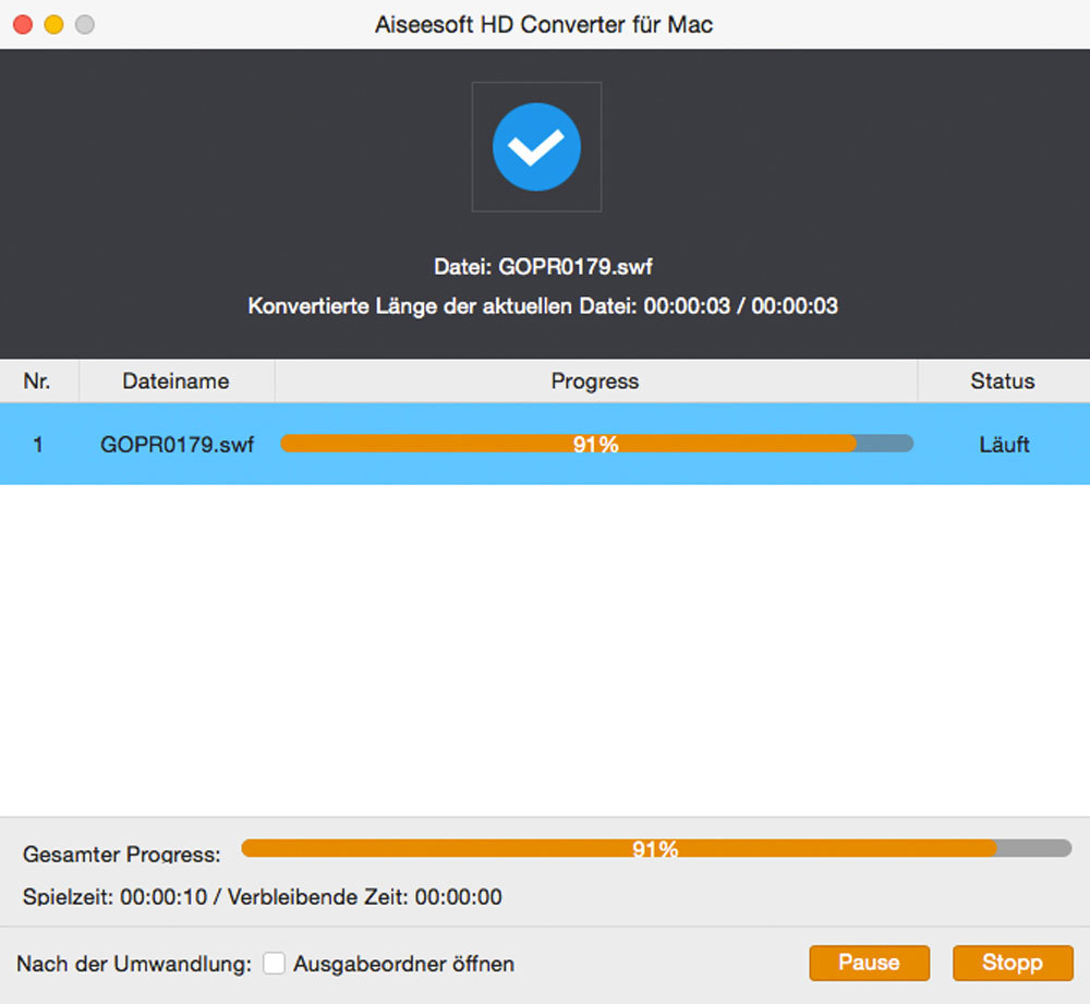 Aiseesoft HD Converter für Mac - 2018 screenshot 4