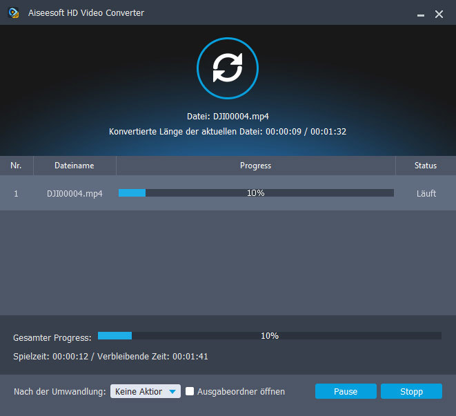 Aiseesoft HD Video Converter für PC - 2018 screenshot 3