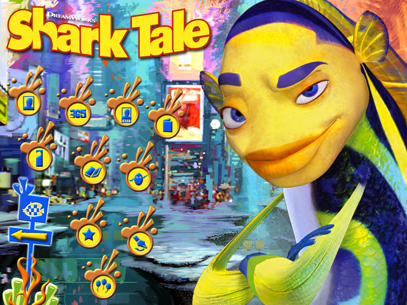 Shark Tale Paint & Create screenshot 1