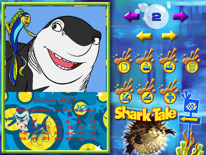 Shark Tale Paint & Create screenshot 2
