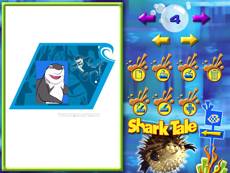 Shark Tale Paint & Create screenshot 3