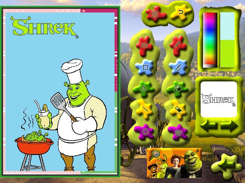 Shrek 2 Paint & Create screenshot 2