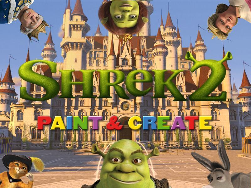 Shrek 2 Paint & Create screenshot 5