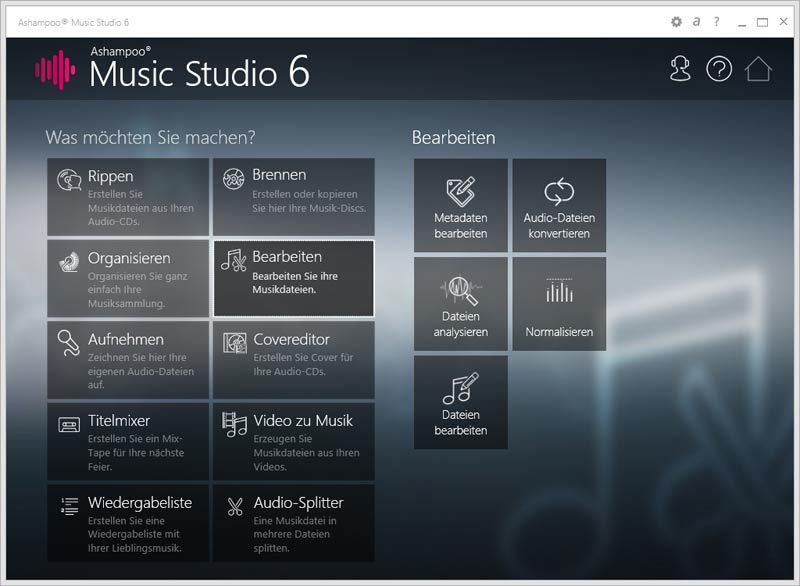 Ashampoo Music Studio 6 screenshot 4