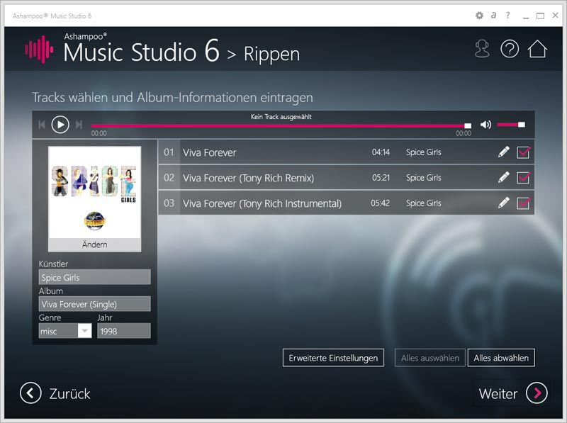 Ashampoo Music Studio 6 screenshot 6