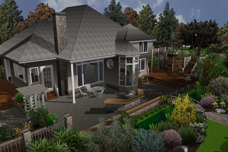 architekt 3d gartendesigner f r mac. Black Bedroom Furniture Sets. Home Design Ideas
