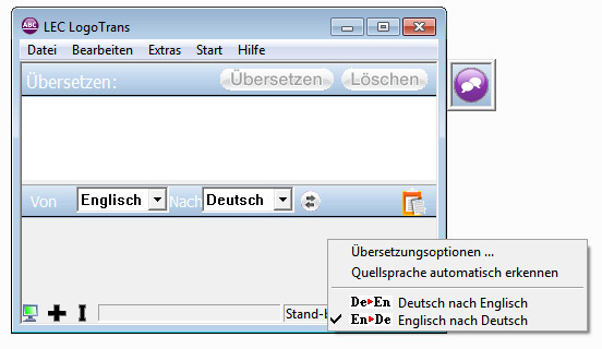 Power Translator 15 Express  Deutsch <=> Englisch screenshot 1