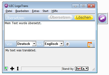 Power Translator 15 Express  Deutsch <=> Englisch screenshot 2