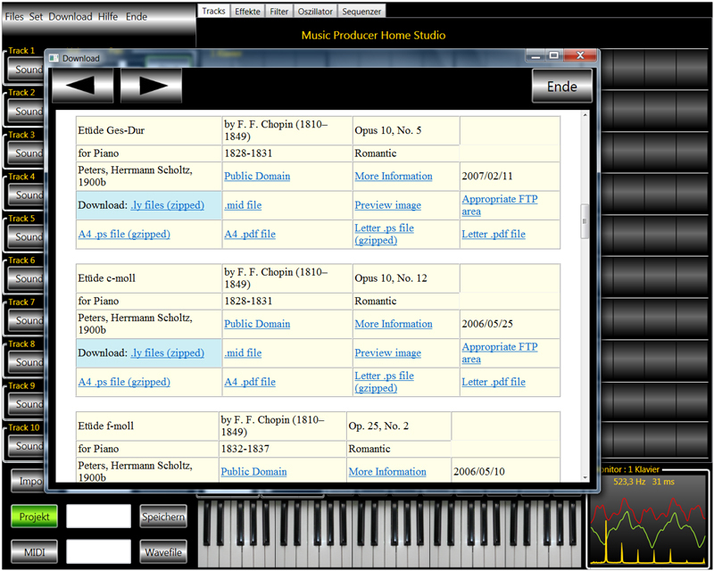 Avanquest Solo Orchester - Home Studio screenshot 3