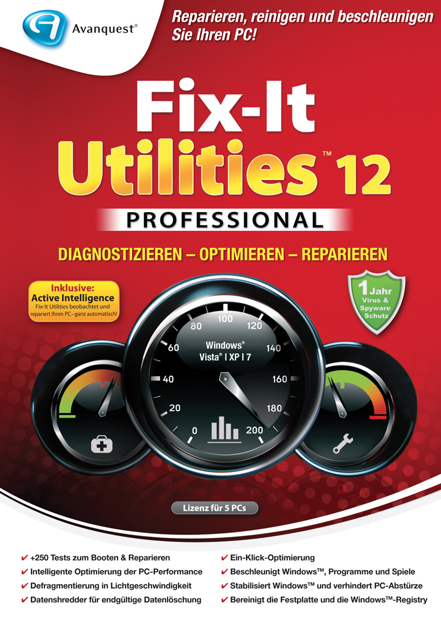 Fix-It Utilities 12 Professional screenshot 8