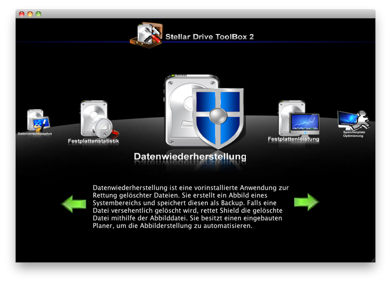 Stellar Drive ToolBox 2 für Mac screenshot 1