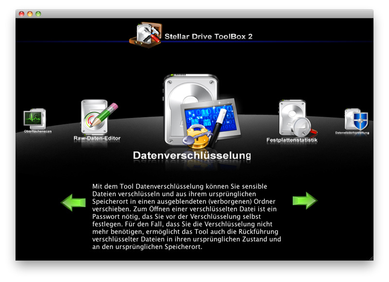 Stellar Drive ToolBox 2 für Mac screenshot 6