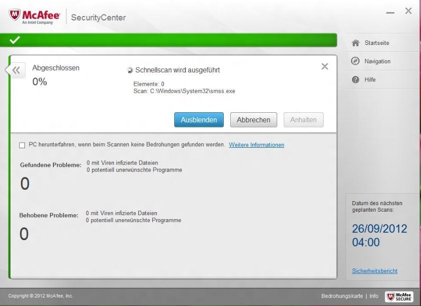 McAfee Internet Security 2013 screenshot 7