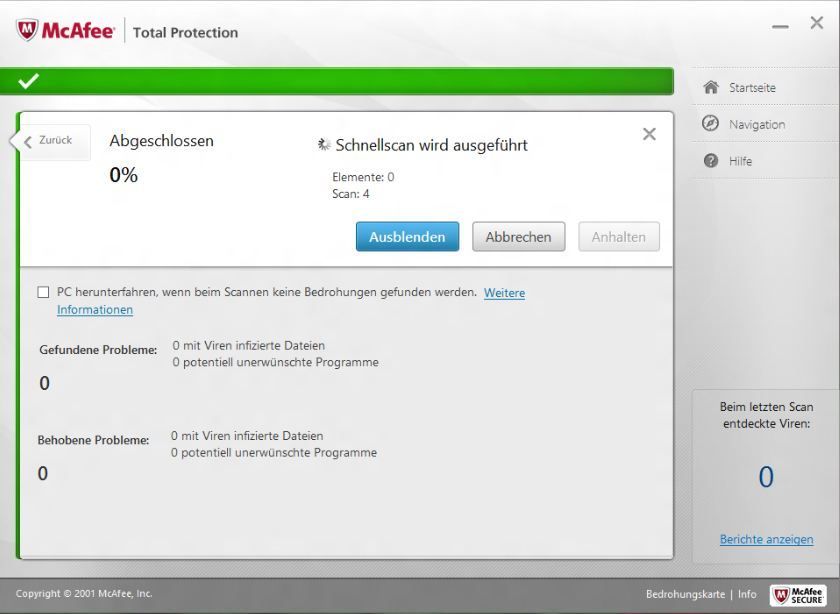 McAfee TotalProtection 2013 screenshot 10