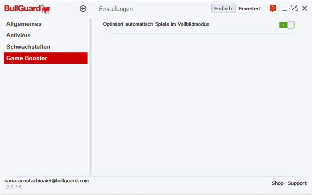 Bullguard Antivirus 2018 - 1 Jahr 1 PC screenshot 2