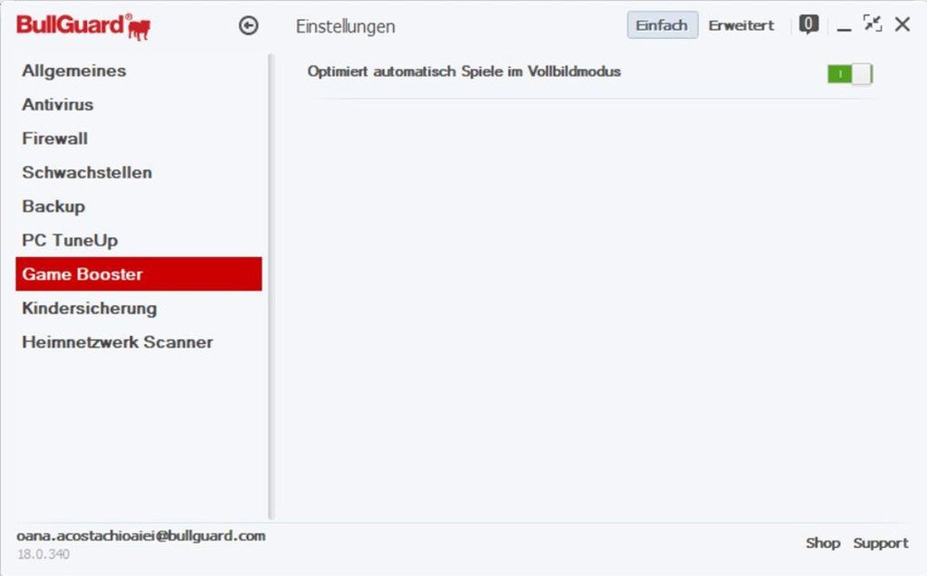 Bullguard Premium Protection 2018 - 1 Jahr 5 Geräte screenshot 2