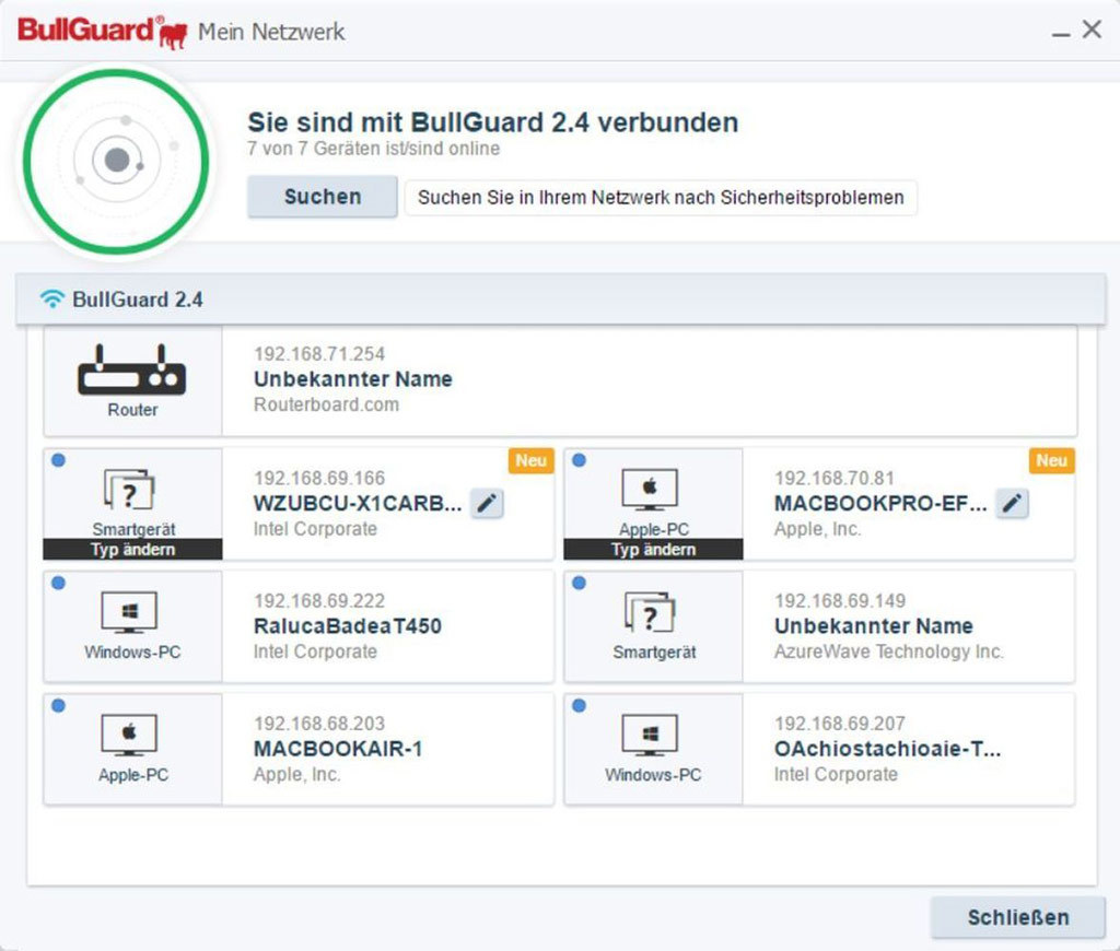 Bullguard Premium Protection 2018 - 1 Jahr 5 Geräte screenshot 5