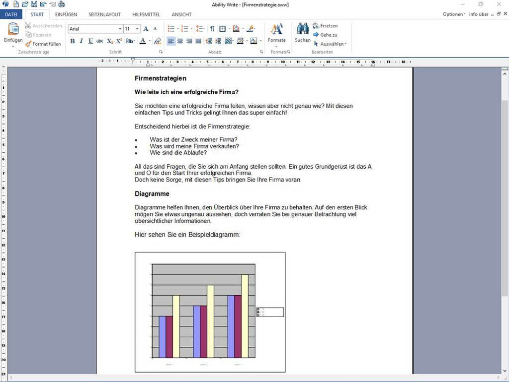 Ability Office 8 Professional screenshot 1