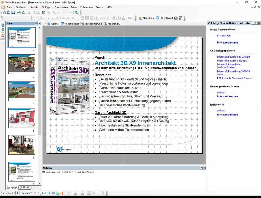 Ability Office 8 Professional screenshot 2