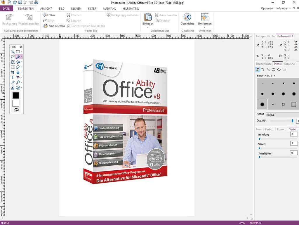 Ability Office 8 Professional screenshot 4