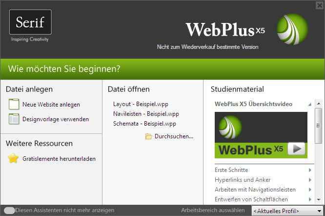 WebPlus X5 screenshot 5