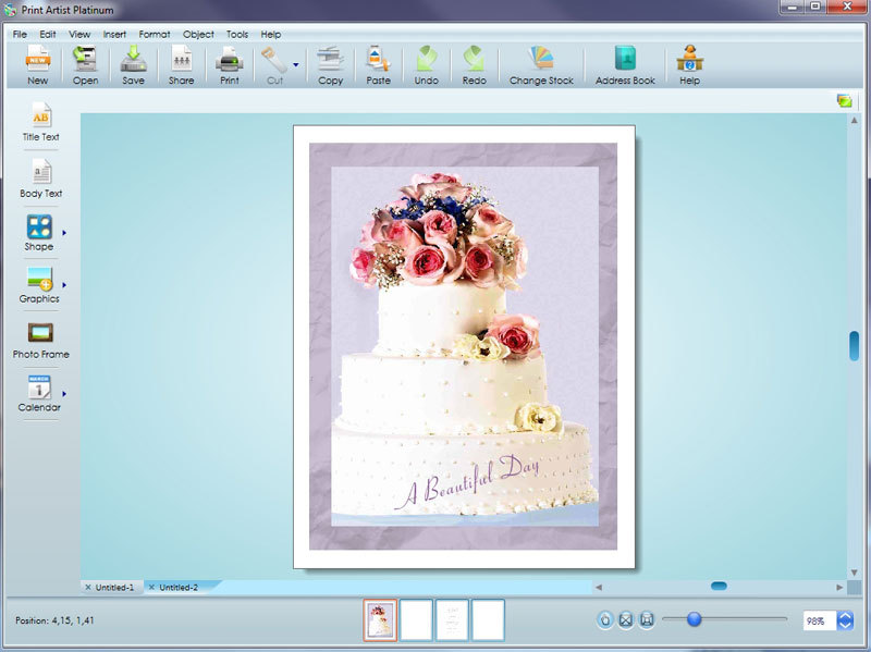 Print Artist Platinum 25 screenshot 5