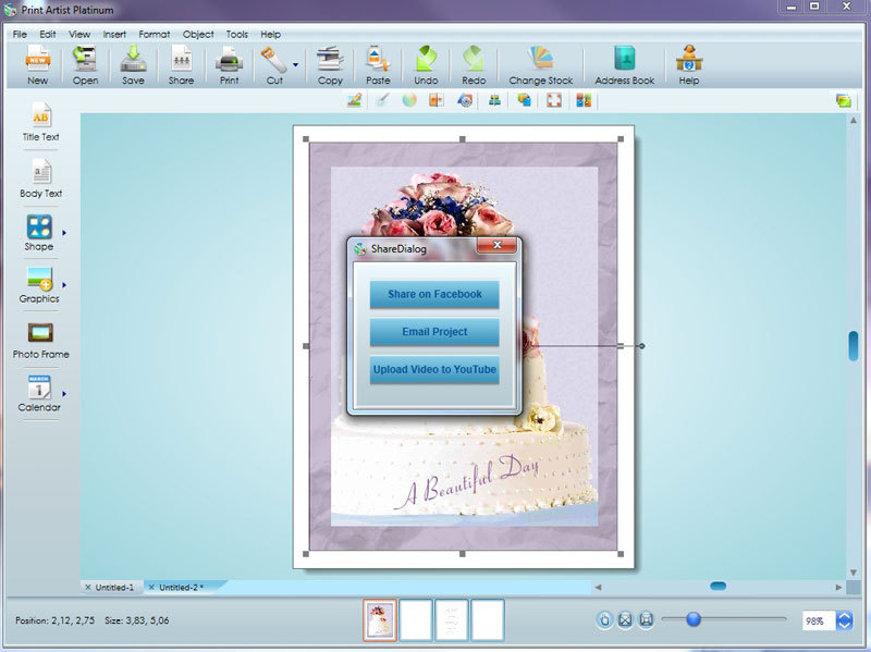 Print Artist Platinum 25 screenshot 6
