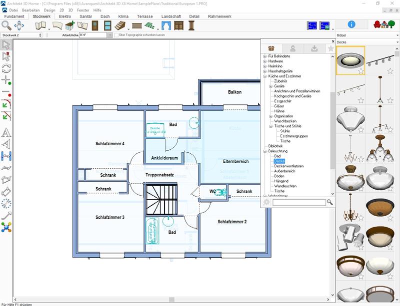 Ein guter baumeister von h usern januar 2014 for Einrichtungsplaner software