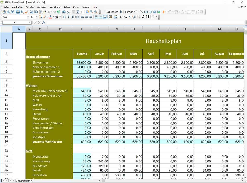 Ability Office 7 Professional screenshot 2