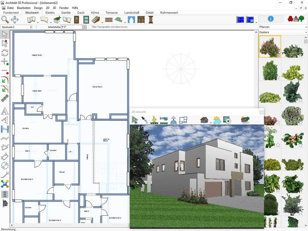 Architekt 3D X9 Professional screenshot 1